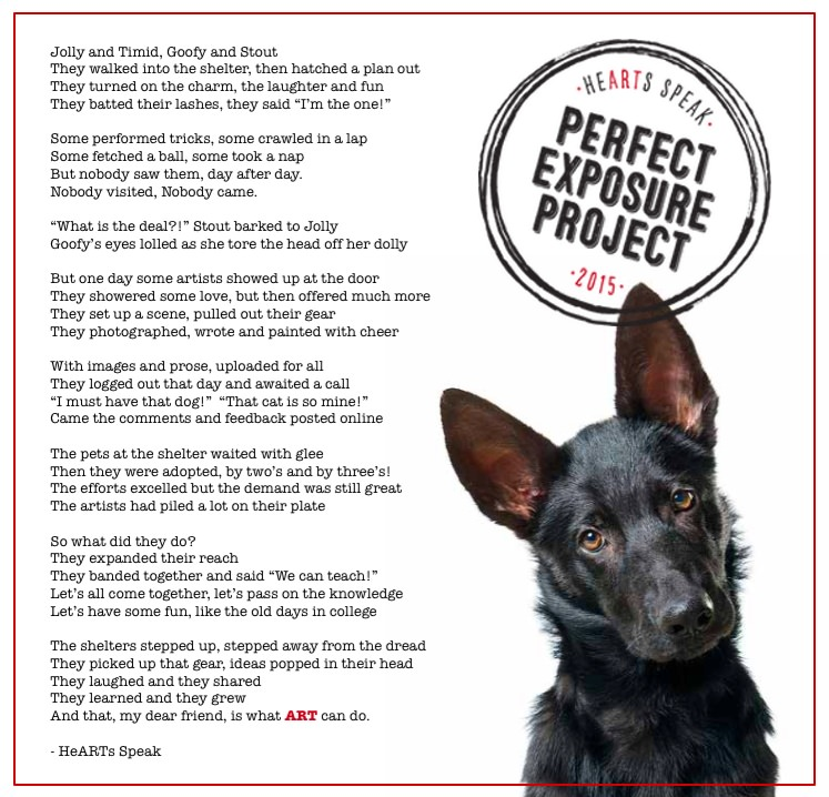 HeARTs Speak Poem PEP
