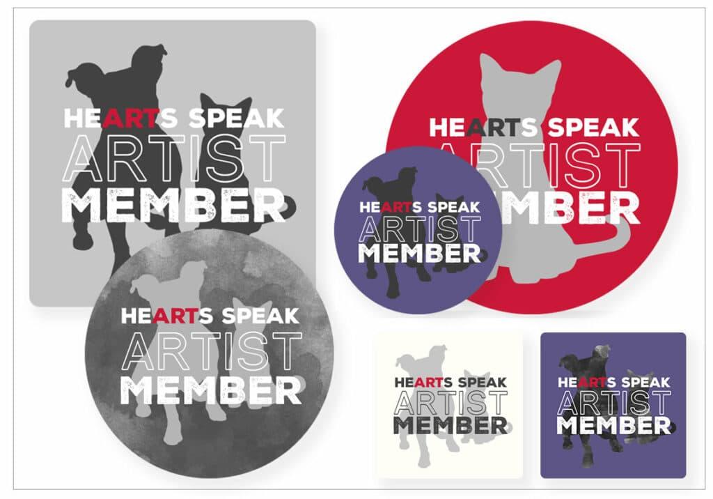 badges newborder 1024x716 - Artist Member Badges