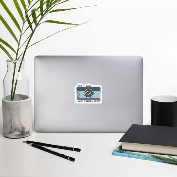 mockup 812b0b54 600x600 - Dog in Camera Sticker