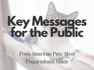 key messages for the public button 300x225 - Communications & Marketing Guide for Shelters, Amid COVID-19