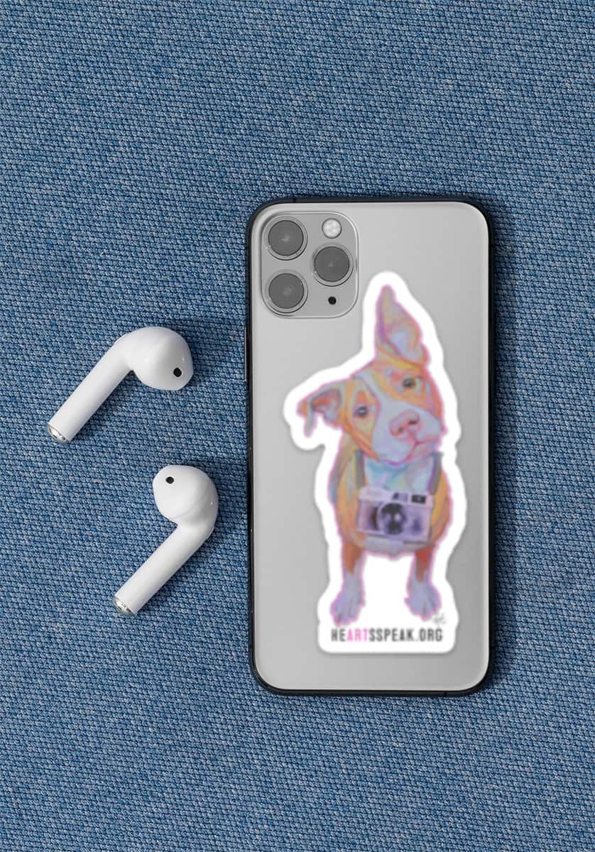 FidgetCellPhoneMock - Sticker - Fidget