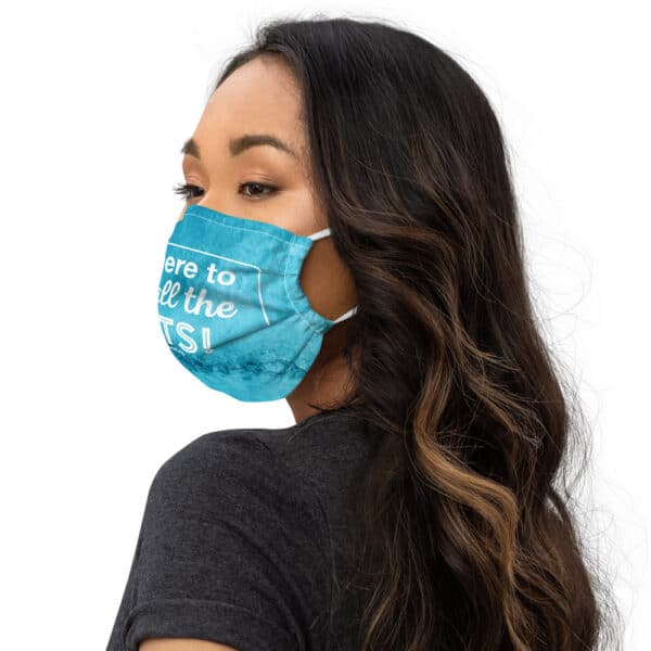 mockup 3420326d 600x600 - I'm Here to Pet All the Cats - Face mask