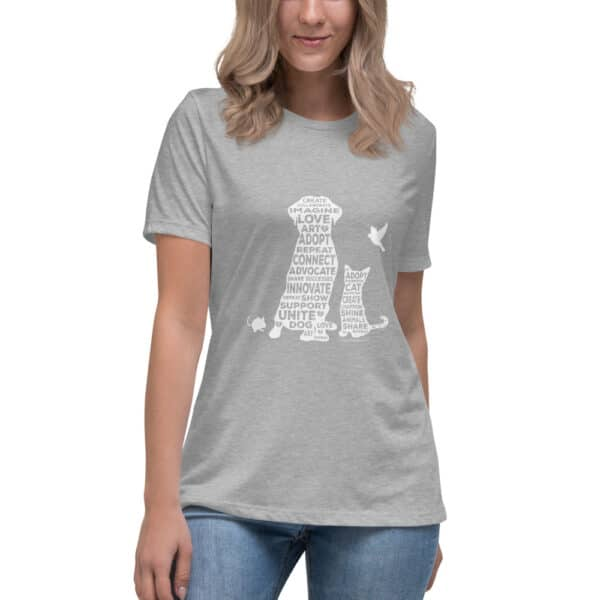 mockup a301374d 600x600 - Create. Promote. Adopt. Women's Relaxed Tee