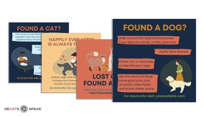 Design Template: Lost & Found Social Graphics